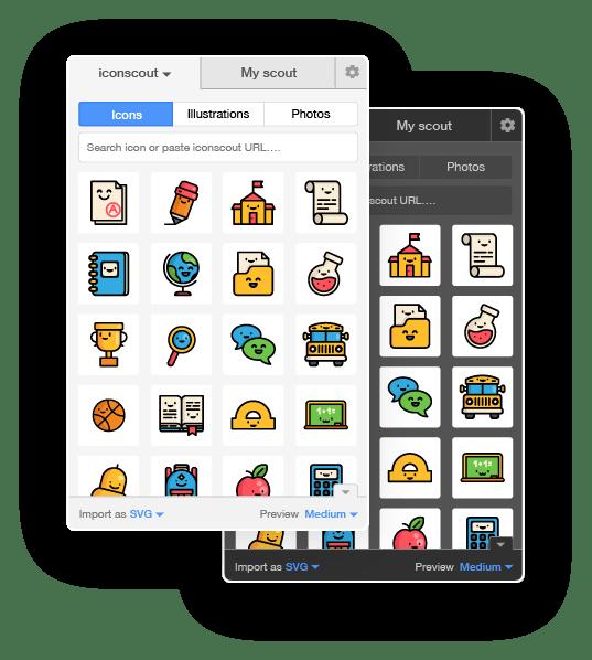 Icondrop Plugin Themes